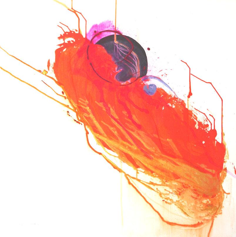 Leah Markowitz Fine Art: Egg Medallion