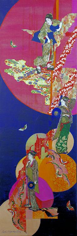 Leah Markowitz Fine Art: Oriental Ladies